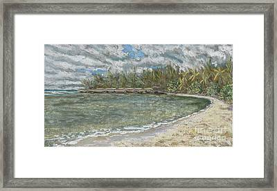 Kawela Bay Framed Print by Patti Bruce - Printscapes