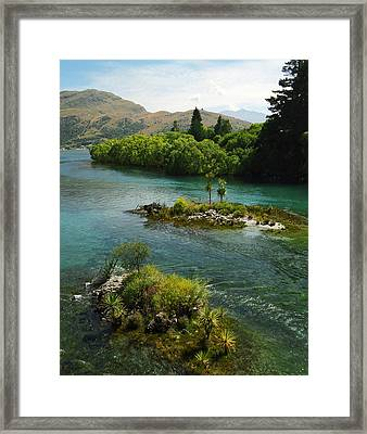 Kawerau River Framed Print by Kevin Smith