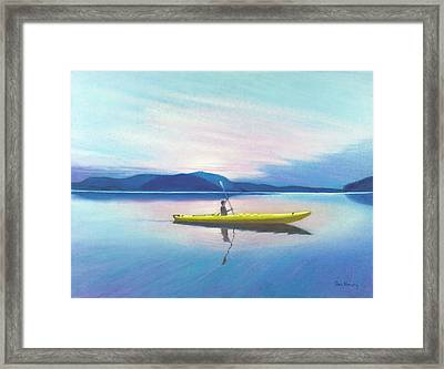 Kayak Framed Print by Don Henry
