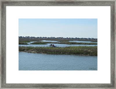 Kayakers Framed Print