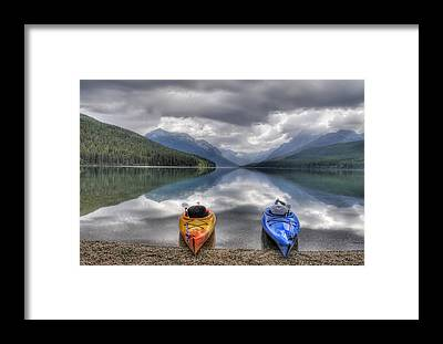 Kayak Framed Prints