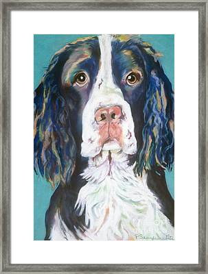 Kayla Framed Print by Pat Saunders-White