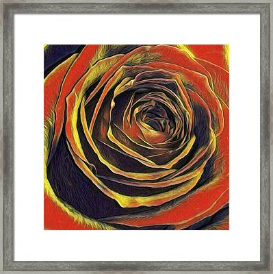 Kayla Rose Framed Print
