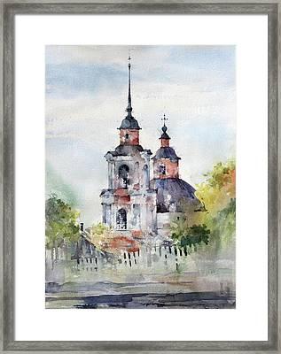 Kazhim - Komi Republic- Russia Framed Print