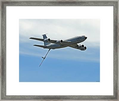 Kc-135 Framed Print