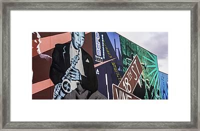 Kc Mural 1 Framed Print