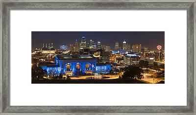 Kc Royal Skyline Framed Print