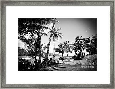 Keanae Landing Maui Hawaii Framed Print by Sharon Mau