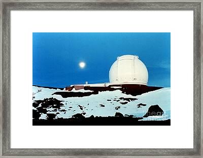 Keck Observatory Framed Print by Science Source