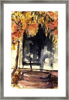 Keeler Hydrangea  Framed Print by David  Llanos