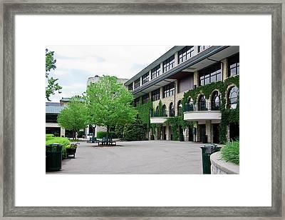 Keeneland Race Track Framed Print by Jill Lang