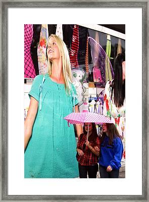 Keep Aspiring Framed Print by Jez C Self