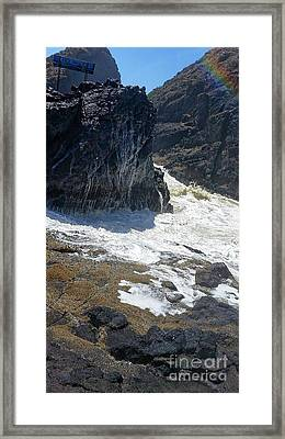 Keep Going Framed Print by Christopher Wilson