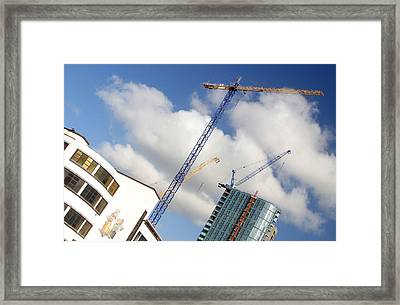 Keep Going Soon Be No More Room Framed Print by Jez C Self