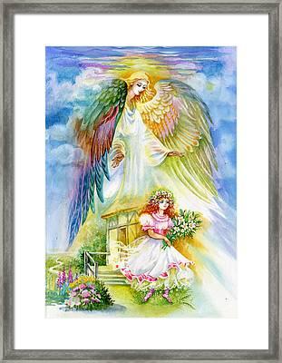 Keep Her Safe Lord Framed Print