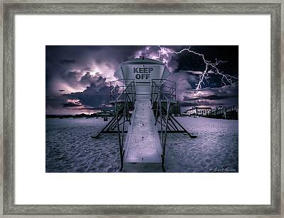 Keep Off Framed Print by Brent Shavnore