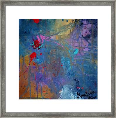 Keep On Dancing Framed Print by Mahlia Amatina