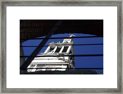 Framed Print featuring the photograph Keep The Faith Where It Is by Jez C Self