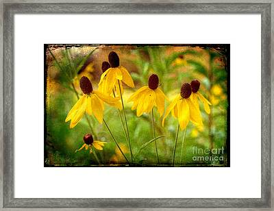 Keep The Light During Those Dark Times Framed Print