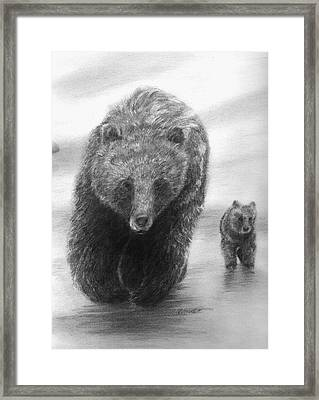 Keep Up Framed Print