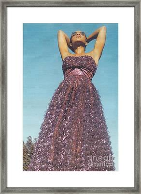 Keep Your Head Up Framed Print by Mia Alexander