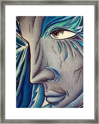 Keeper Of Her Safety Framed Print