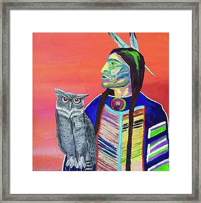 Keeper Of The Night Framed Print