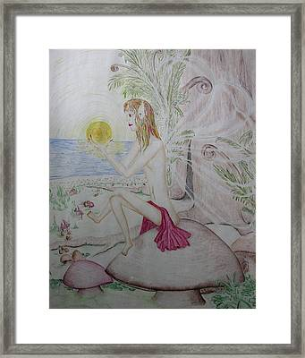 Keeper Of The Sun Framed Print by Carol Frances Arthur