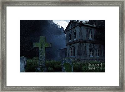 Keepers Of The Manor  Framed Print by Richard Rizzo