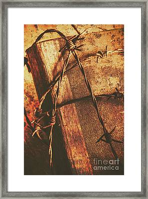 Keepers Of The Oath Framed Print