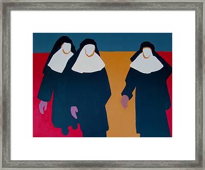 Keepers Of Their Faith Framed Print