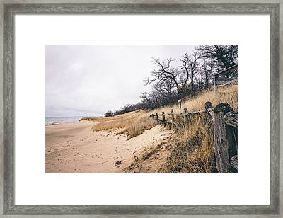 Keeping Me Alive Framed Print by Edwin Goodwin