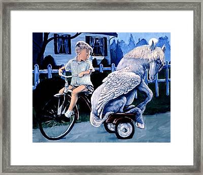 Keeping Secret Framed Print by Michael Orwick