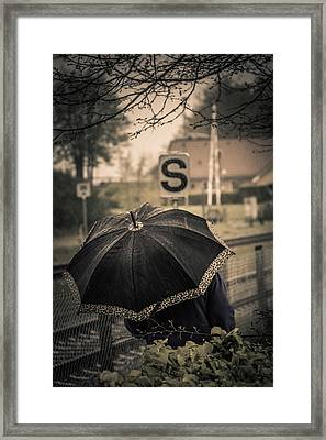 Keeping The World At Bay Framed Print by Odd Jeppesen