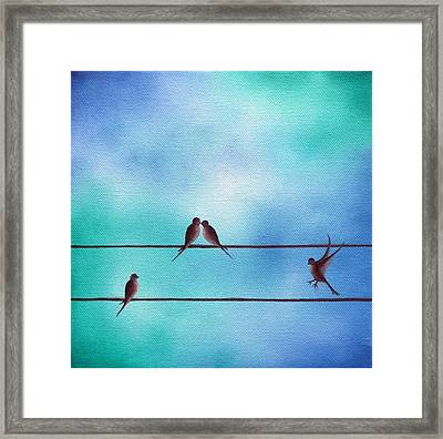 Keeping Today Framed Print