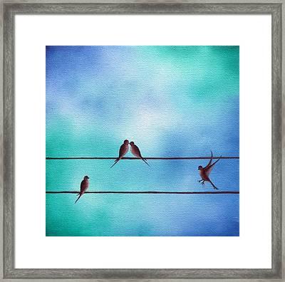 Keeping Today Framed Print by Rachel Bingaman
