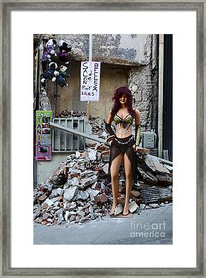 Keeping Up Appearances Framed Print