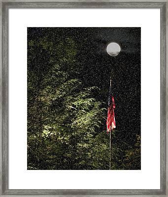 Keeping America  Illuminated.  Framed Print