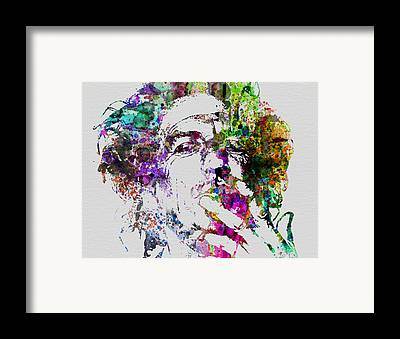 Keith Richards Framed Prints
