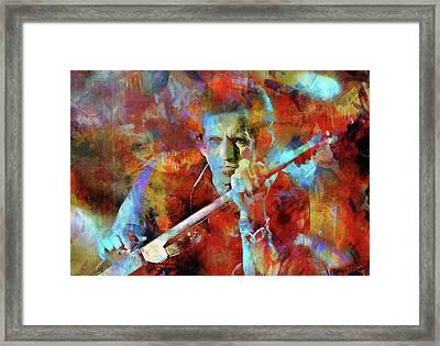 Keith Richards Framed Print