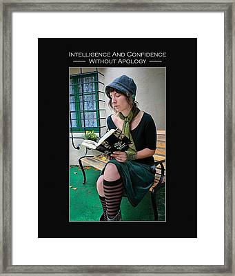 Kellie Peach 5-69 Framed Print
