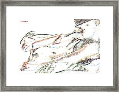 Kelly - Da Framed Print by Leonardo Digenio