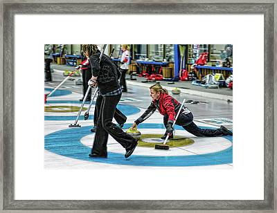 Kelly Law In The Hack Framed Print by Lawrence Christopher