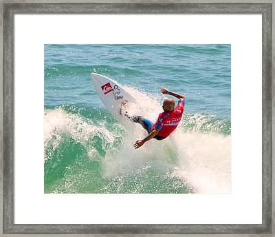 Kelly Slater Us Open Of Surfing 2012     3 Framed Print