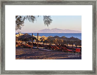 Kellys Beach Framed Print