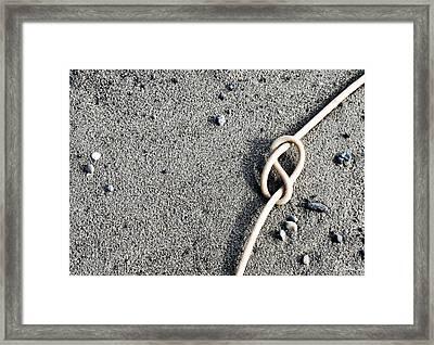 Kelpic Knot Framed Print