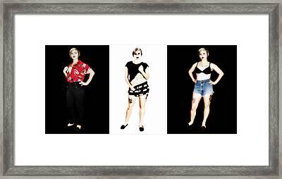Kelsey 4 Framed Print