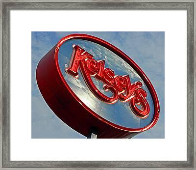 Kelseys Framed Print by Elizabeth Hoskinson