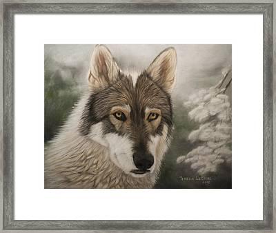 Keme Framed Print by Teresa LeClerc