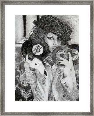 Kemp Muhl Framed Print by Angelica Medrano